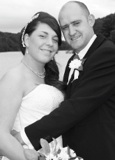 Wedding at  Water Park Hotel Bride and Groom Photographs by Mark Rowbottom